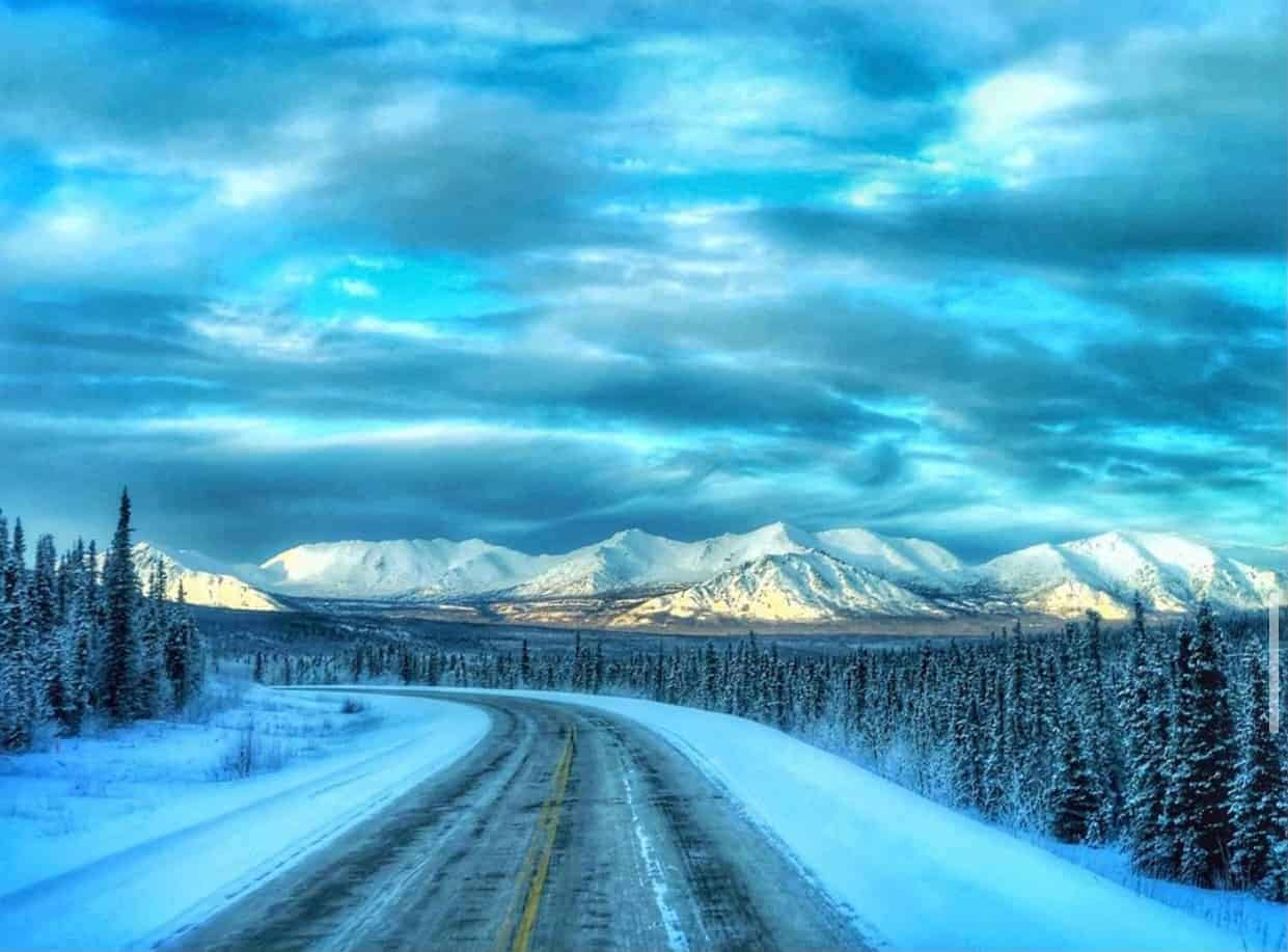Richardson Highway, Alaska.
